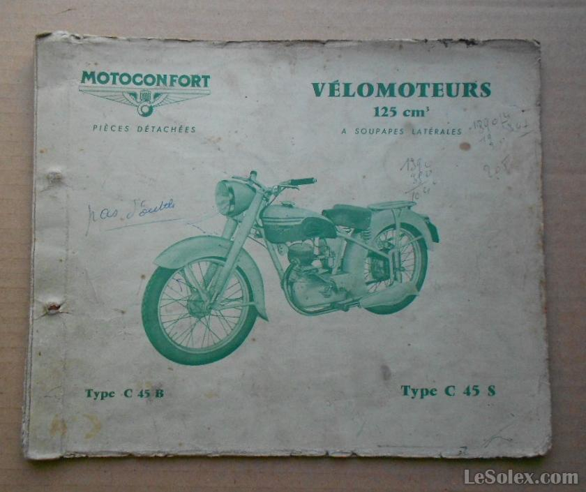 Catalogue MOTOBECANE C45