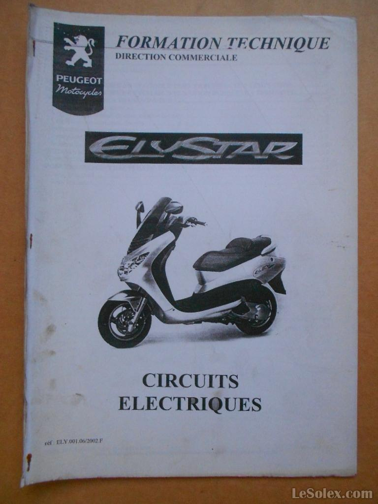 documentation d'atelier peugeot scooter formation elystar